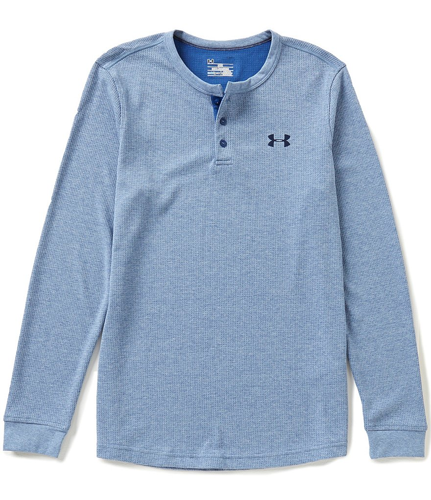 Under Armour Waffle Long-Sleeve Henley