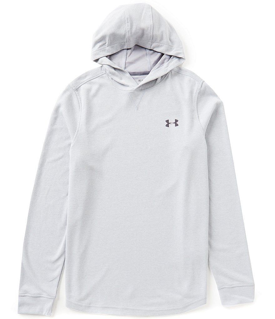 Under Armour Waffle Long-Sleeve Popover Hoodie