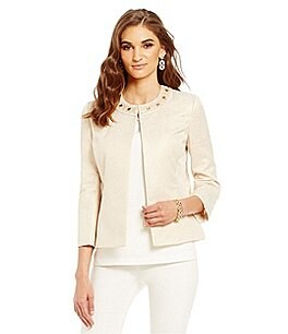 Preston & York Monica Jacquard Blazer Jacket Image