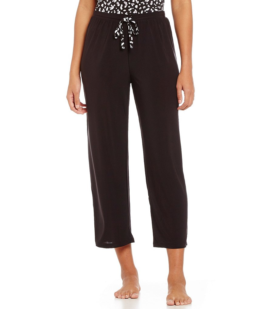 Nottibianche Cropped Slinky Jersey Sleep Pants