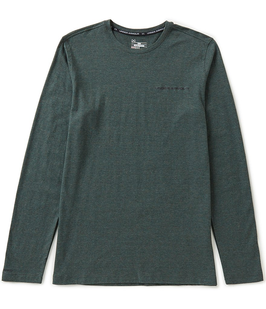 Under Armour Charged Cotton Microthread Long-Sleeve Tee