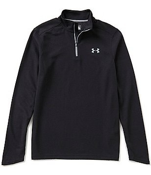 Under Armour Coldgear Infrared Warmest/Lightest Mockneck Quarter-Zip Pullover