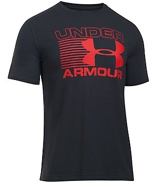Under Armour Blitz 4-Way Stretch Logo Graphic Tee
