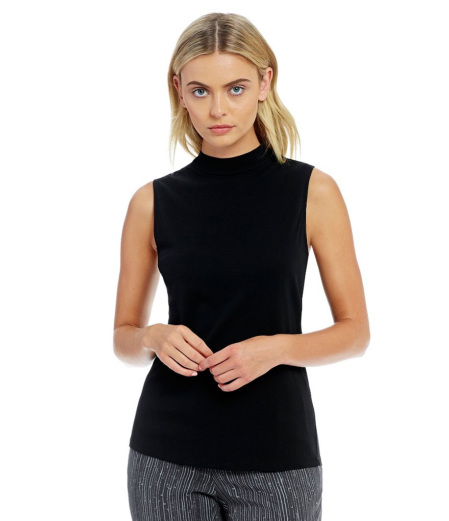 Eileen Fisher Mock Neck Tank