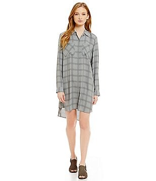Eileen Fisher Classic Collar Shirt Dress