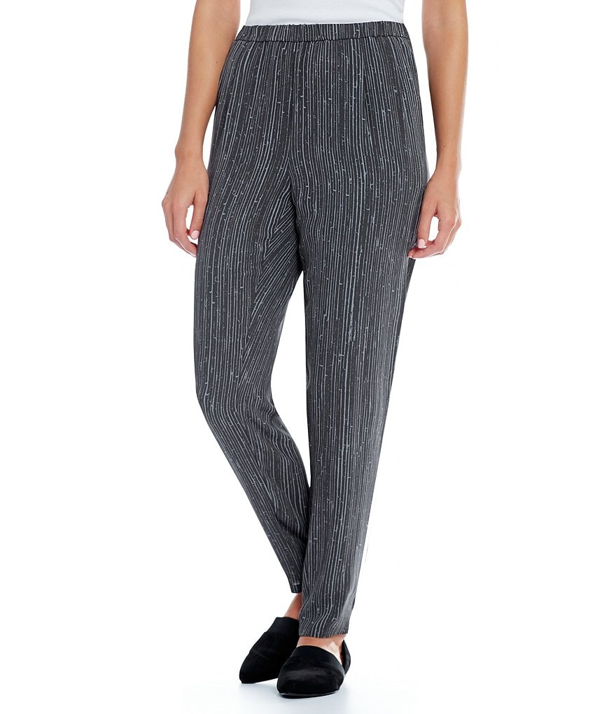 Eileen Fisher Slouchy Silk Pants