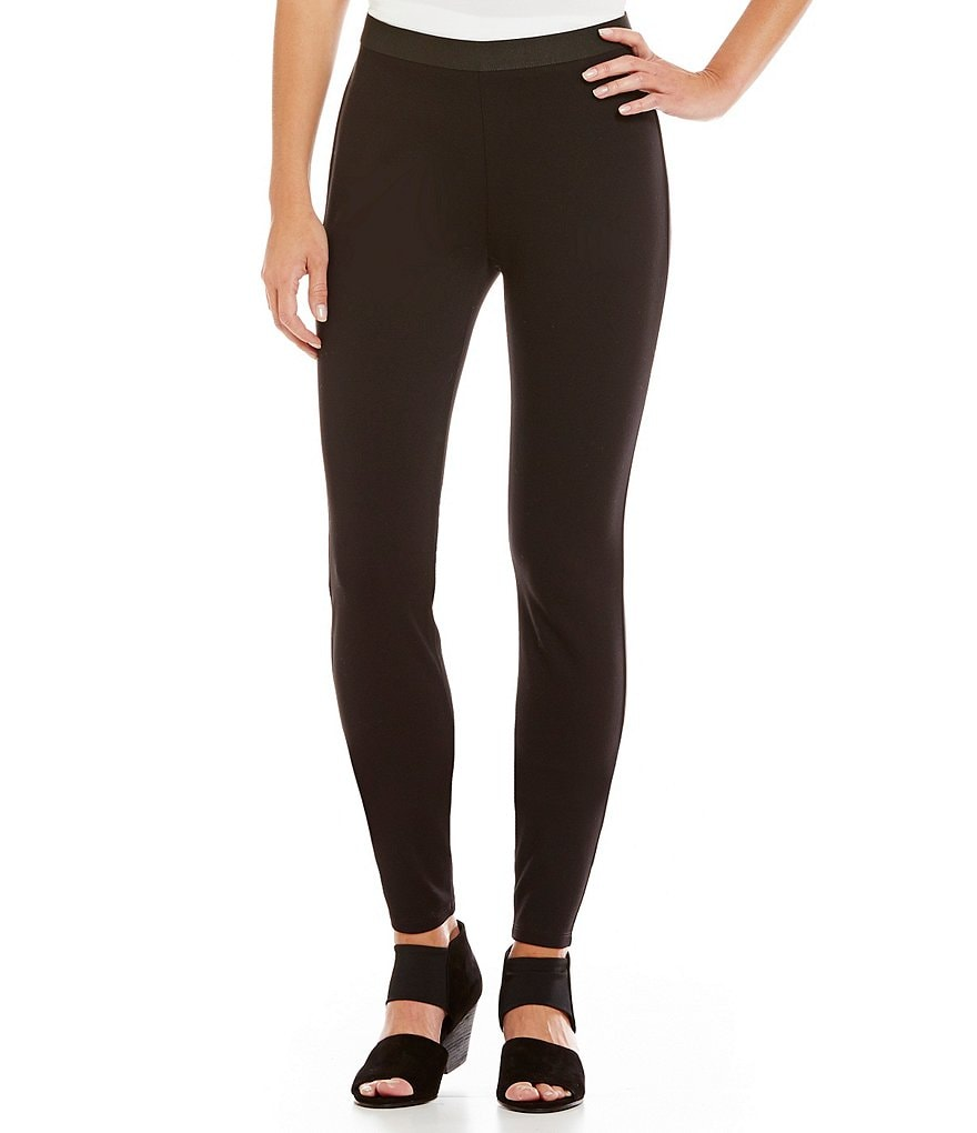 Eileen Fisher Pull-On Ponte Leggings