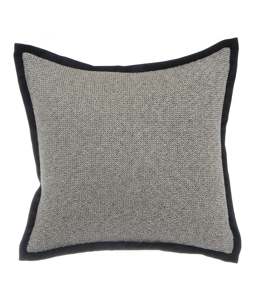 candice OLSON Freefall Faux-Tweed Square Pillow