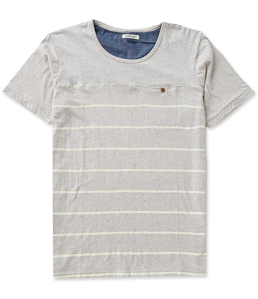 Astronomy Nordic Horizontal Striped Pocket Tee