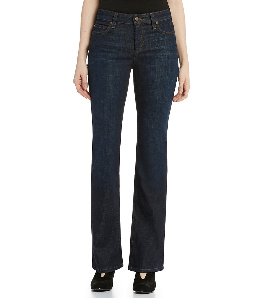 Eileen Fisher Organic Denim Boot Cut Jeans