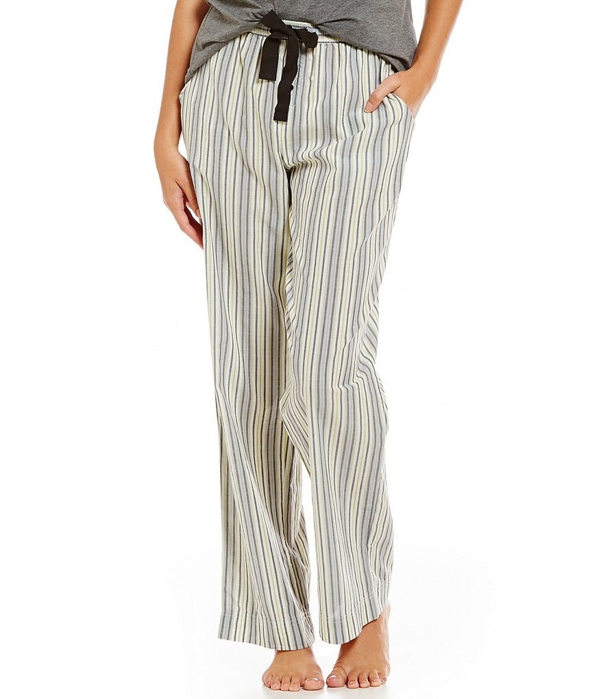 Sleep Sense Striped Poplin Sleep Pants