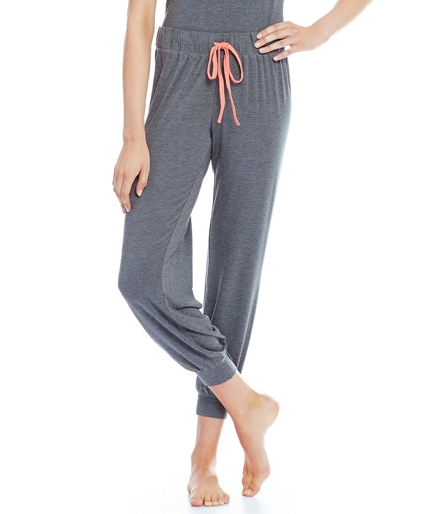 Jasmine & Ginger Color Block Jogger Sleep Pants