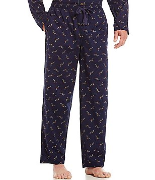 Tommy Bahama Woven Tossed Marlin Repeating Print Pajama Pants