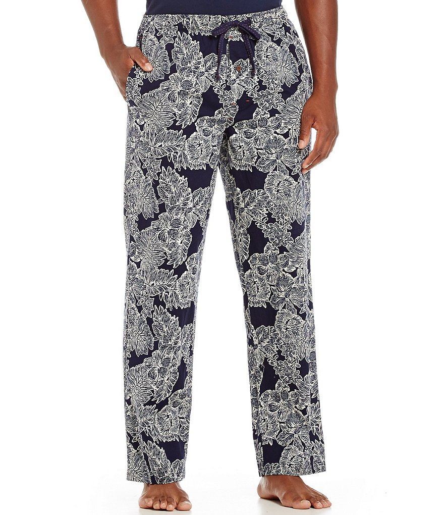 Tommy Bahama Woven Royal Palm Print Pajama Pants
