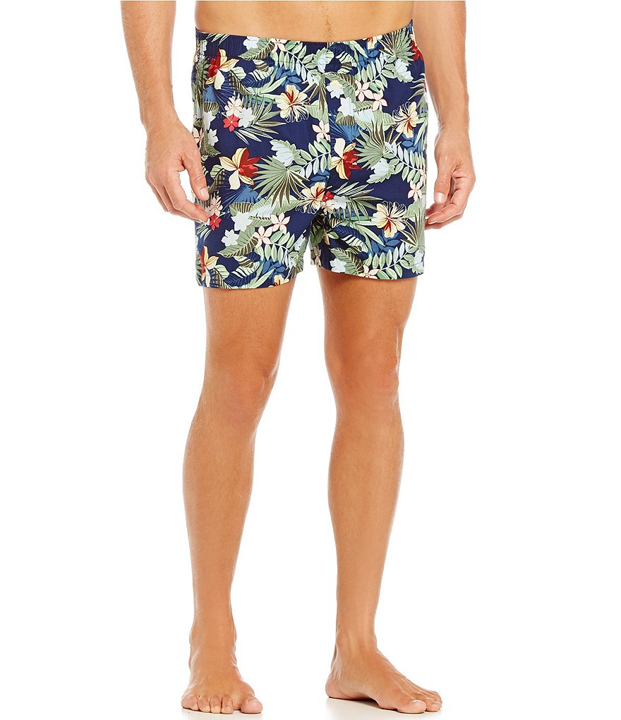 Tommy Bahama Woven Tropical Breeze Printed Boxers