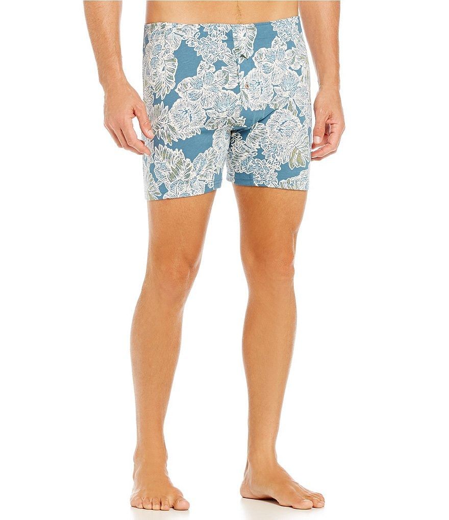 Tommy Bahama Holiday Floral Palm Print Boxer Briefs
