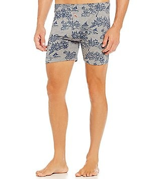 Tommy Bahama Floating Tropical Print Boxer Briefs