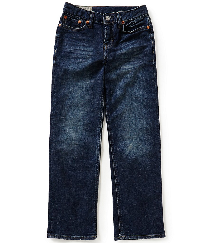 Ralph Lauren Childrenswear Little Boys 5-7 Classic-Fit Denim Jeans