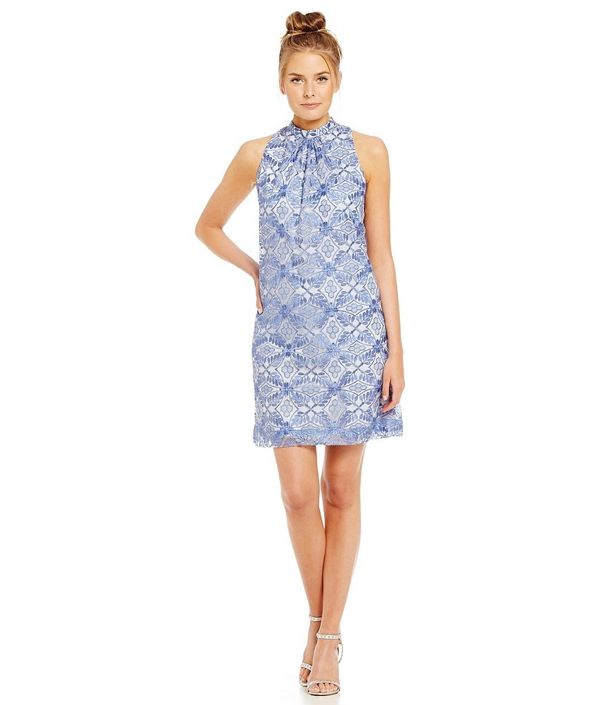ERIN Erin Fetherston Chanson Embroidered Dress