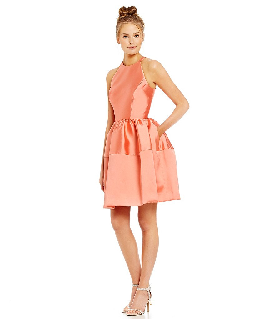 ERIN Erin Fetherston Georgia Twill Cocktail Dress