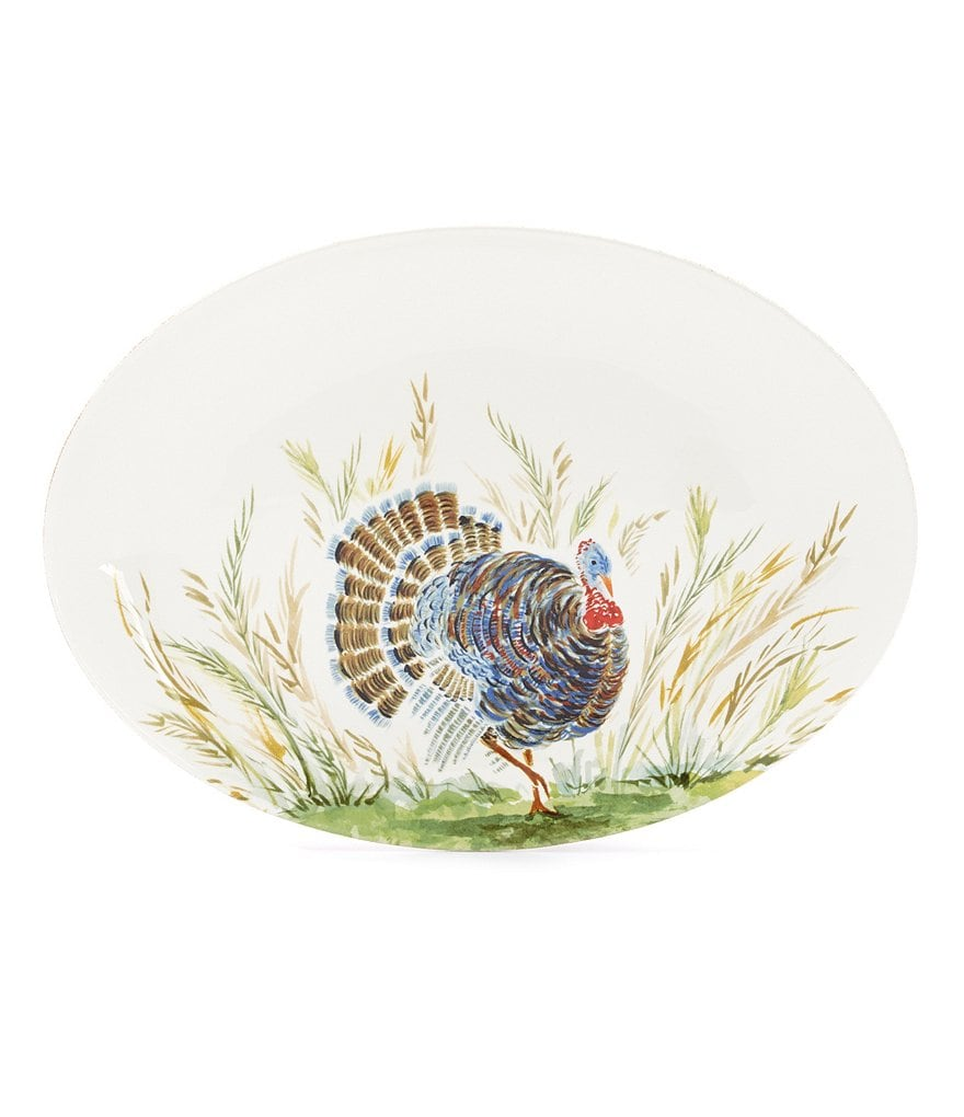Southern Living Harvest Turkey Platter