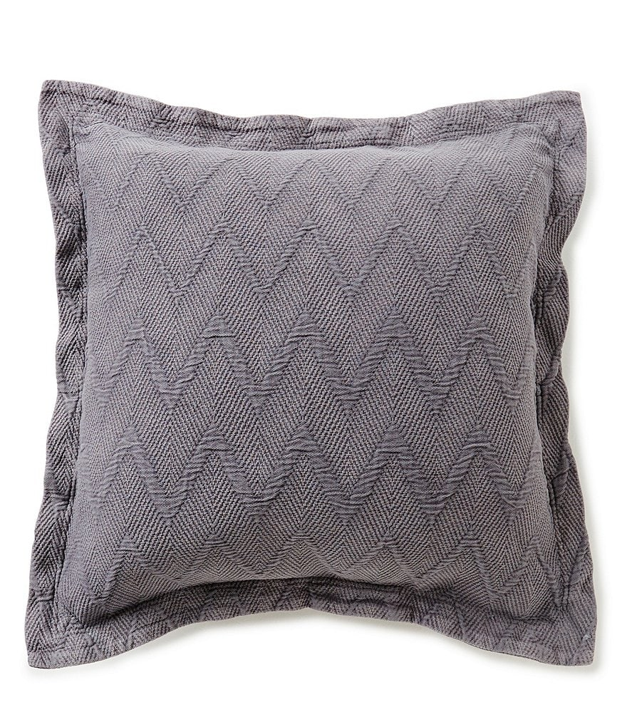 Moderne by Noble Excellence Lawton Herringbone Matelasse Square Pillow