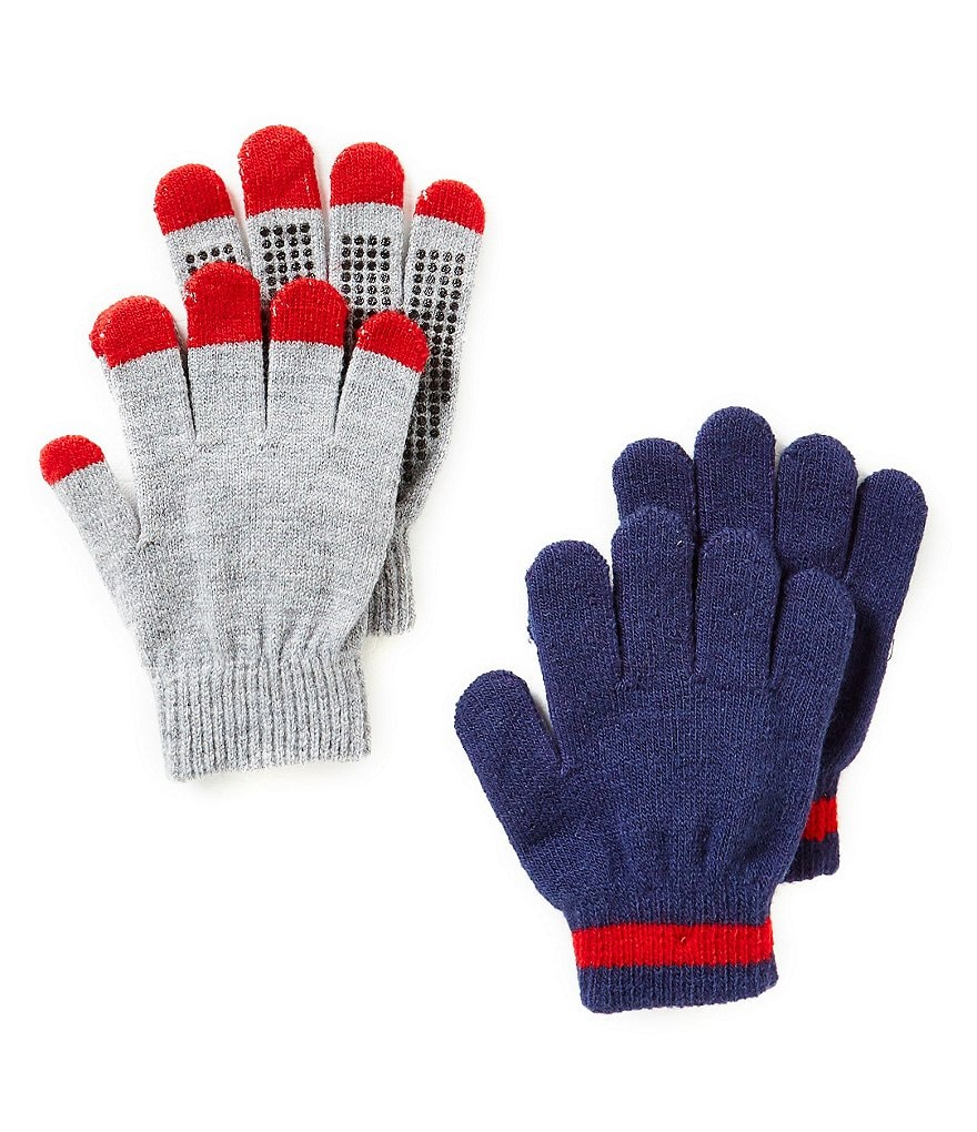 Class Club Boys Solid Gripper Gloves