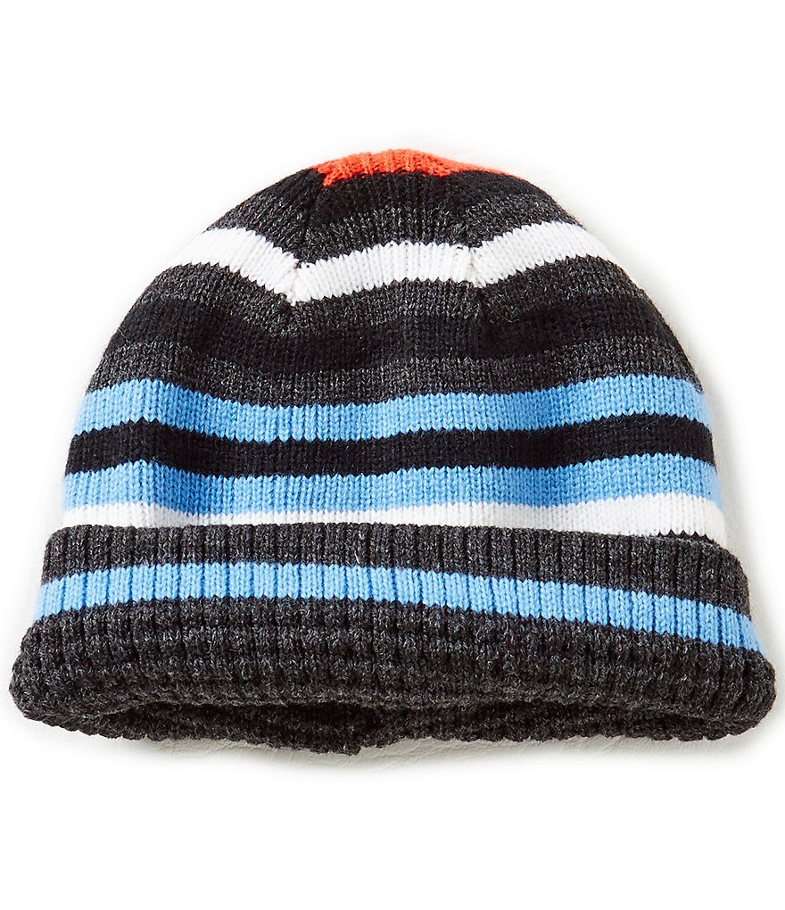 Class Club Boys Striped Reversible Hat