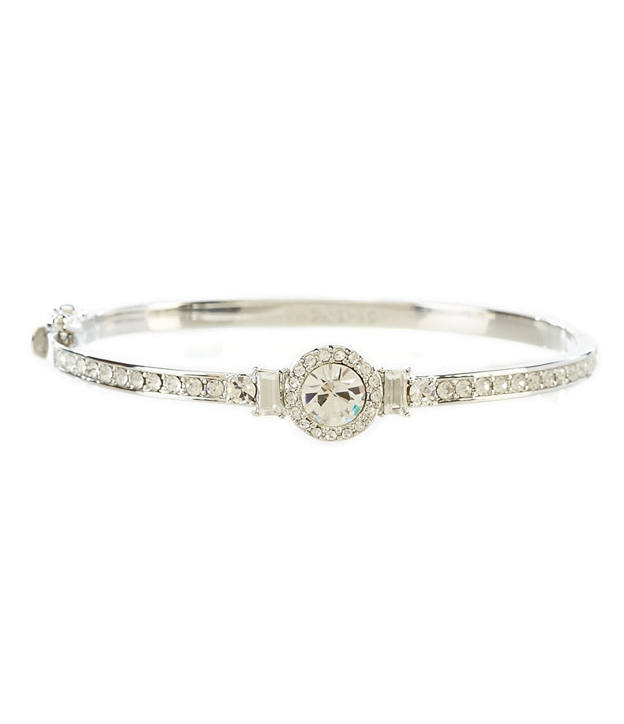 Givenchy Crystal Round Bangle Bracelet