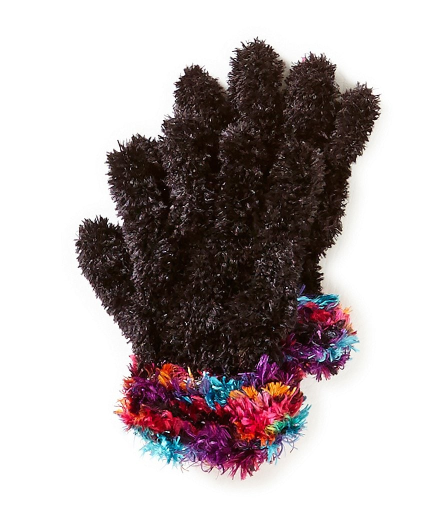 Copper Key Girls Feather Gloves