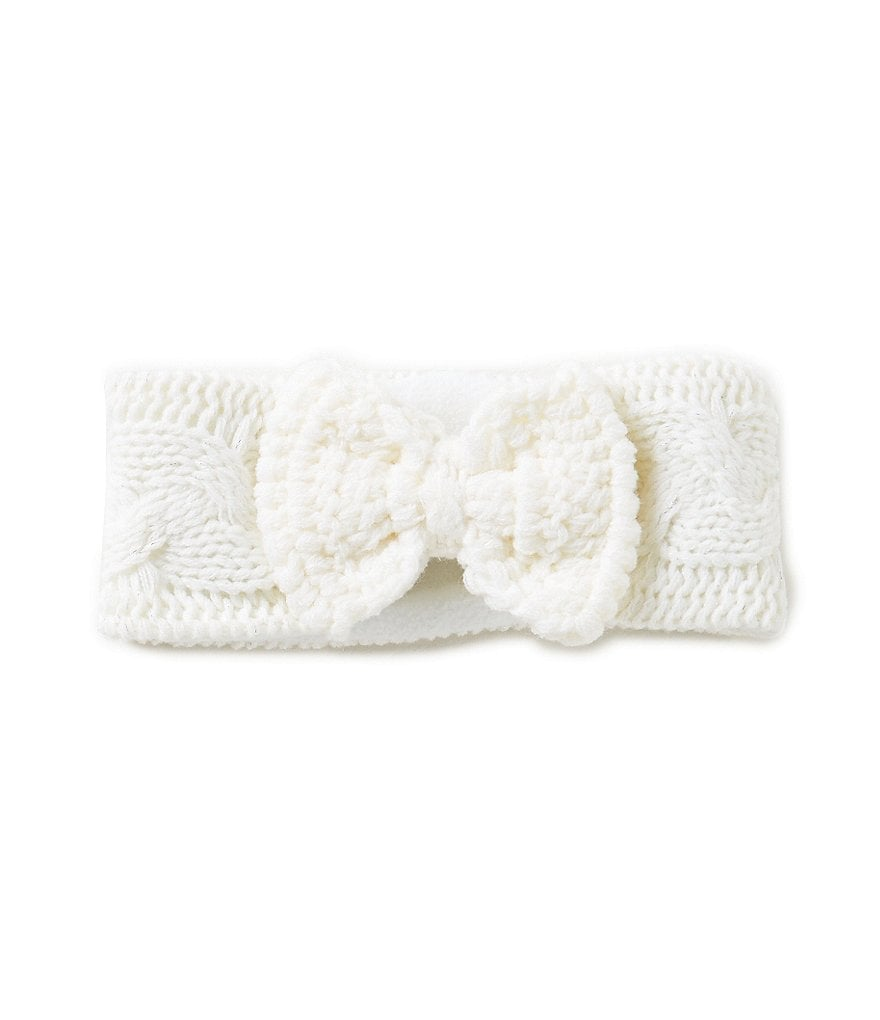 Copper Key Girls Cable-Knit Head Wrap