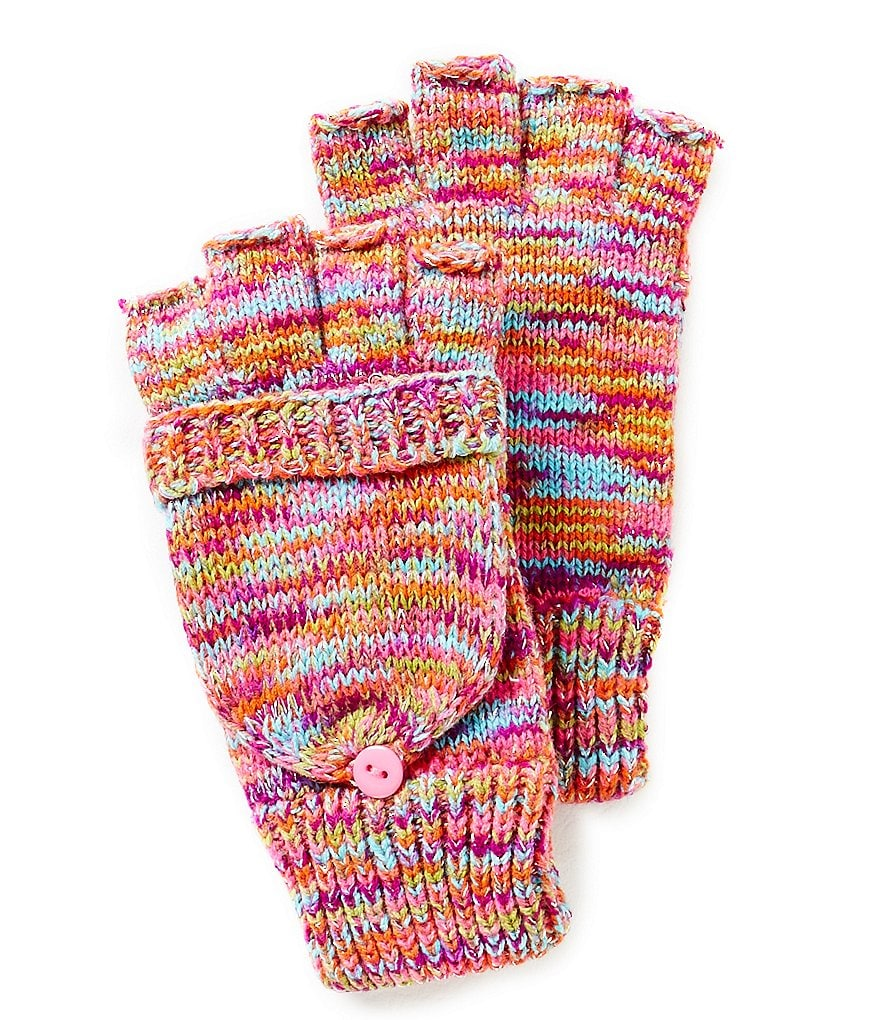 Copper Key Girls Space-Dyed Convertible Gloves
