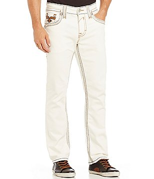 Rock Revival Steven Straight-Fitting Denim Jeans