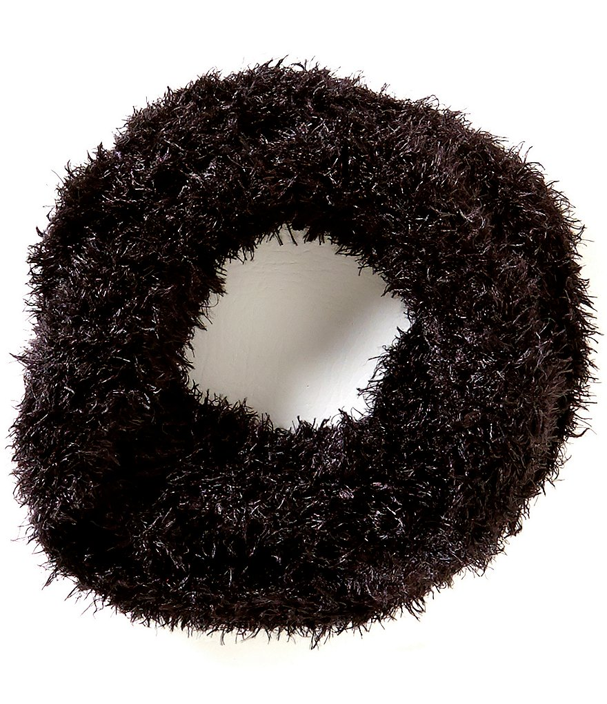 Copper Key Girls Feather Infinity Scarf