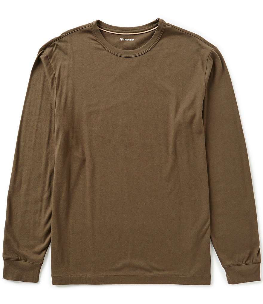 Cremieux Long-Sleeve Jersey Tee