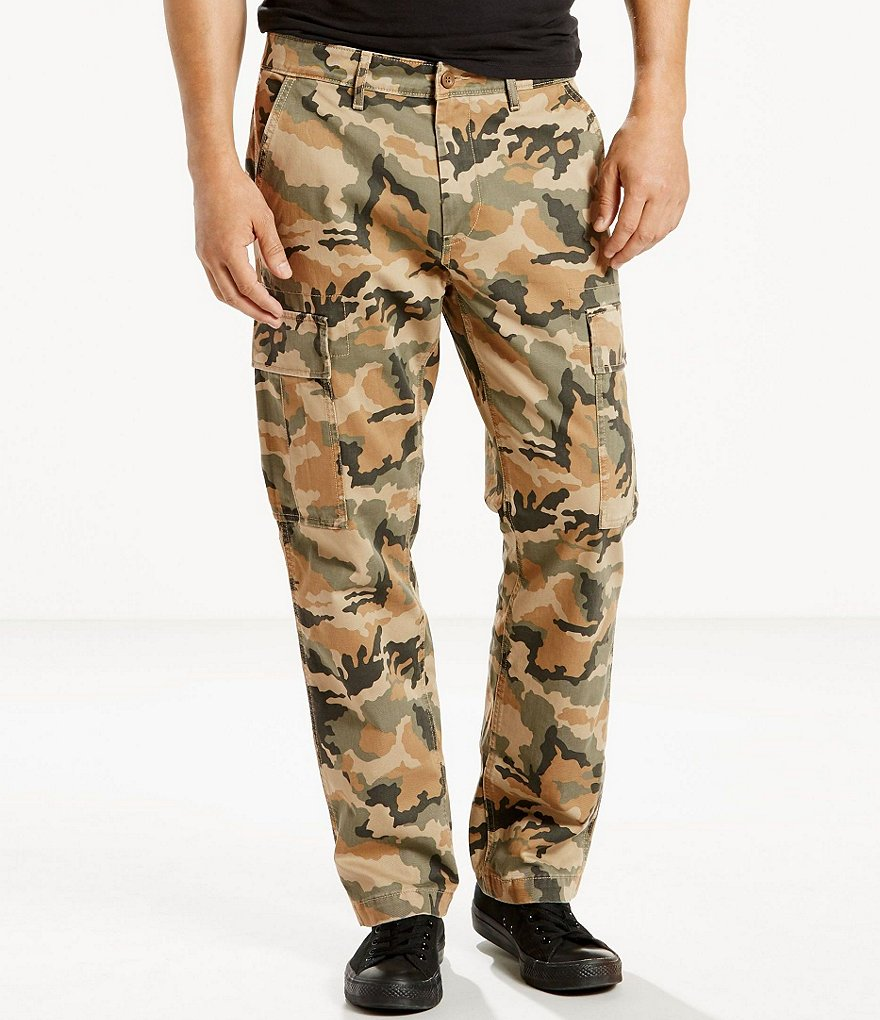Levi´s® 541 Athletic-Fit Twill Camo-Print Cargo Pants