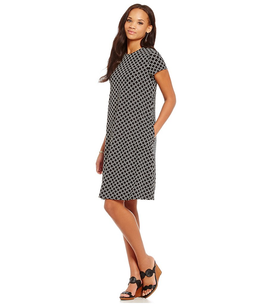 J.McLaughlin Printed Swing Dress