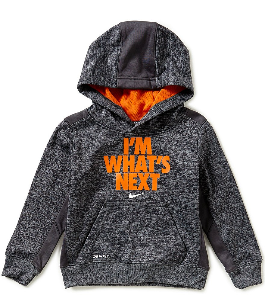 Nike Little Boys 2T-4T I'm What's Next Therma Pullover Hoodie