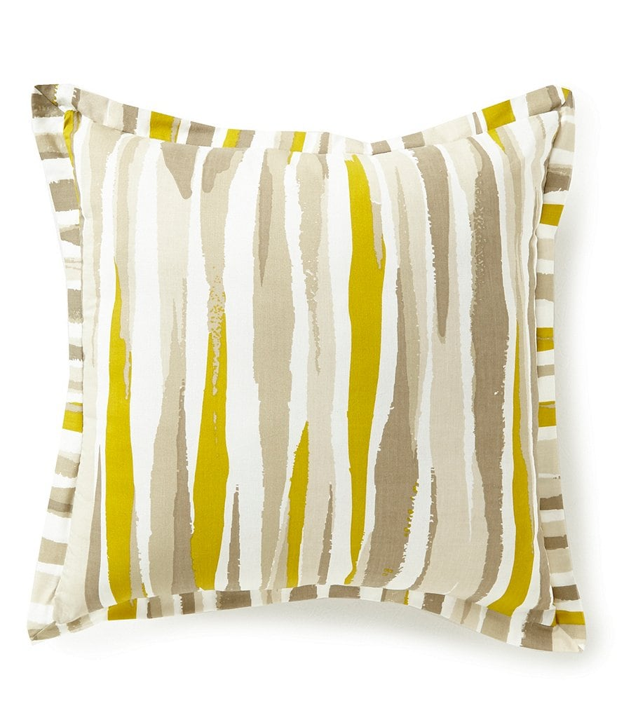Moderne by Noble Excellence Verve Watercolor Cotton Square Pillow