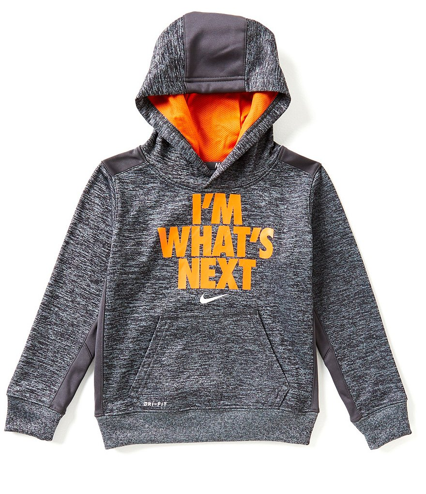 Nike Little Boys 4-7 Therma Pullover Hoodie