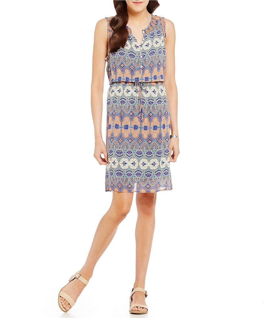 Lucky Brand Stained Glass Print Dress
