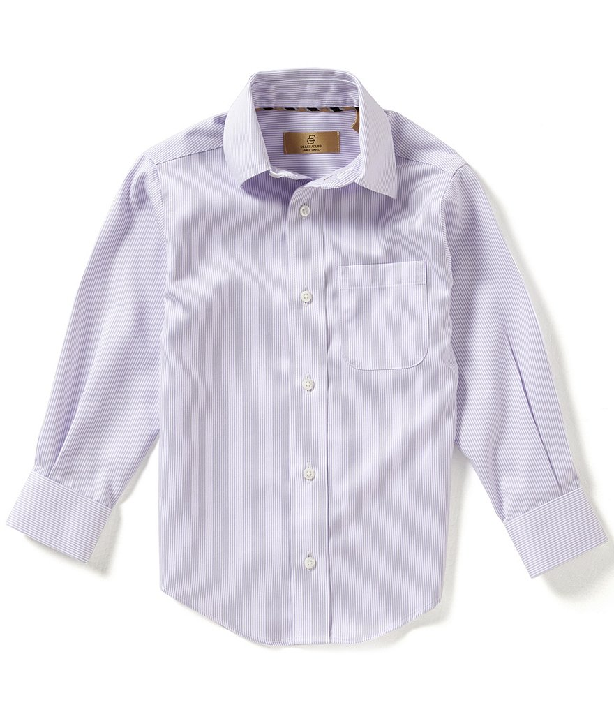 Class Club Gold Label Little Boys 2T-7 Striped Shirt