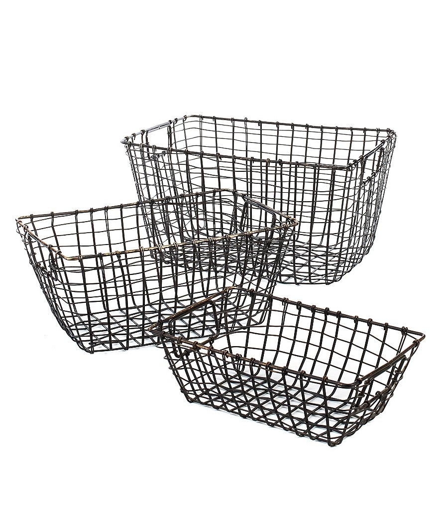 Noble Excellence 3-Piece Basket Set
