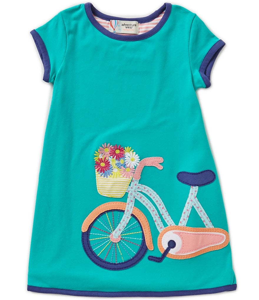 Adventure Wear by Copper Key Little Girls 2T-4T Bike Dress