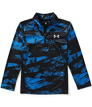 Under Armour Little Boys 4-7 Printed/Color Block 1/4-Zip Jacket