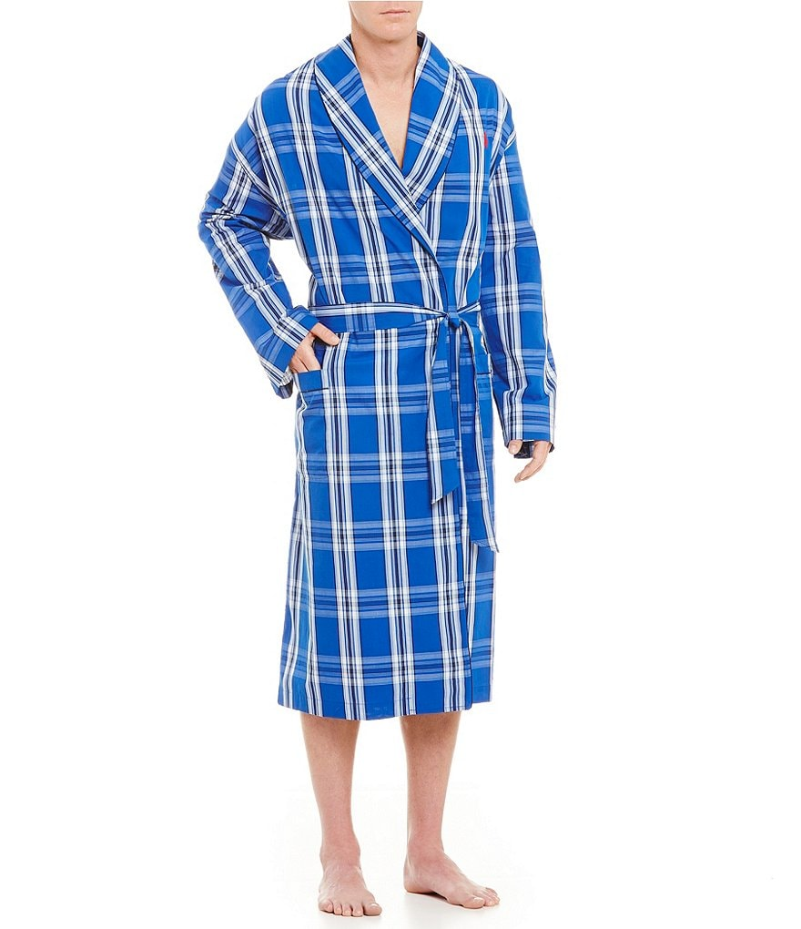 Polo Ralph Lauren Plaid Woven Robe
