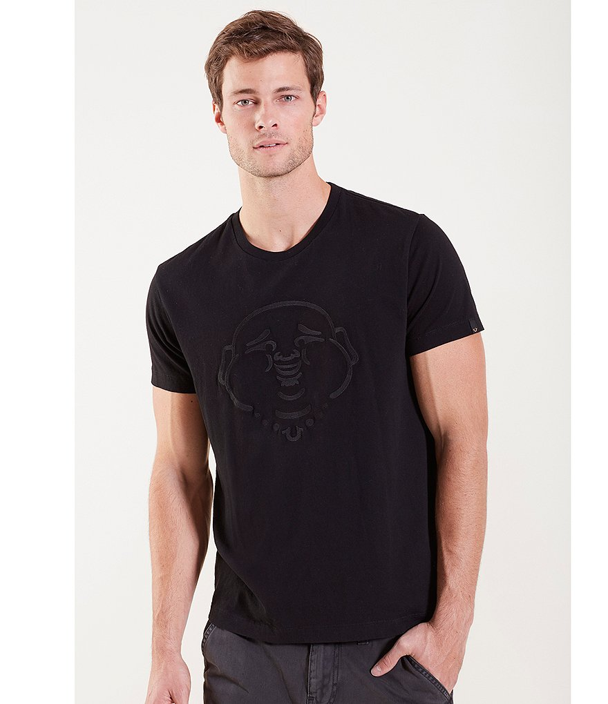 True Religion Embroidery Buddha Graphic Tee