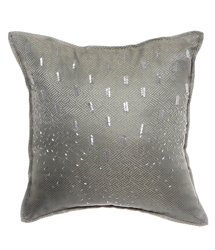 candice OLSON Lyrical Beaded Square Pillow
