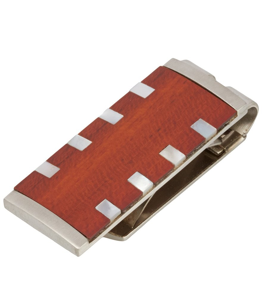 Murano Rosewood Money Clip