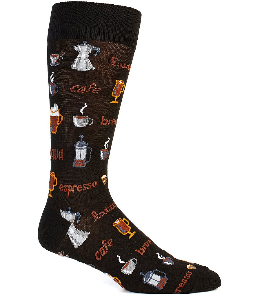 Hot Sox Coffee Crew Socks